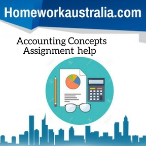 Accounting Concepts Assignment Help
