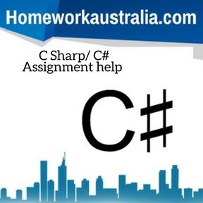 C Sharp C# Assignment Help
