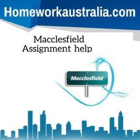 Macclesfield Assignment HelpMacclesfield Assignment Help