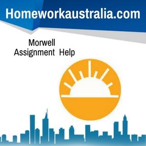 Morwell Assignment HelpMorwell Assignment Help