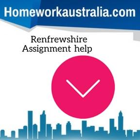 Renfrewshire Assignment Help