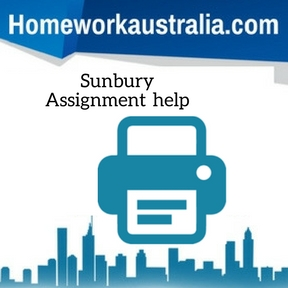 Sunbury Assignment Help