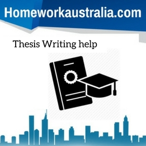 Thesis Writing help