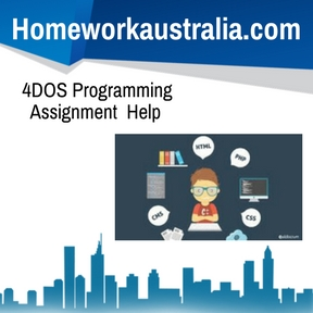 4DOS Programming Assignment Help