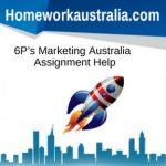 6P's Marketing Australia