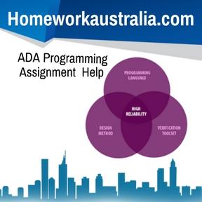 ADA Programming Assignment Help