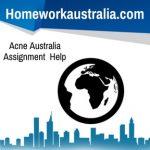 Acne Australia