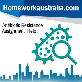 Antibiotic Resistance Assignment Help