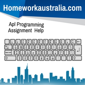 Apl Programming Assignment Help