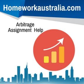 Arbitrage Assignment Help