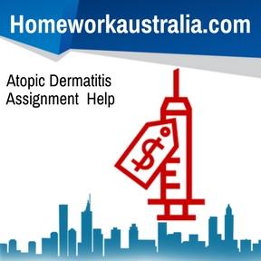 Atopic Dermatitis Assignment Help