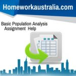 Basic Population Analysis