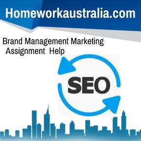 Brand Management Marketing Assignment Help