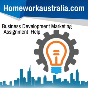 Business Development Marketing Assignment Help