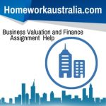 Business Valuation and Finance