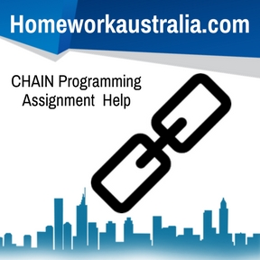 CHAIN Programming Assignment Help