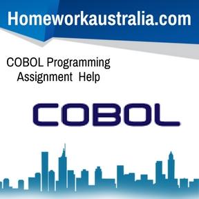 COBOL Programming Assignment Help
