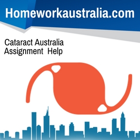 Cataract Australia Assignment Help