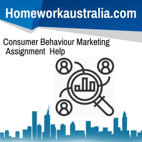 Consumer Behaviour Marketing Assignment Help