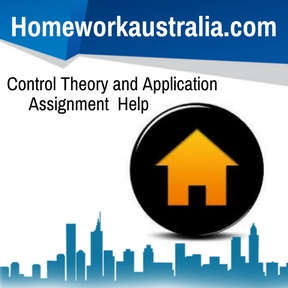 Control Theory and Application Assignment Help