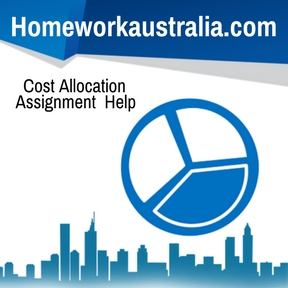Cost Allocation Assignment Help