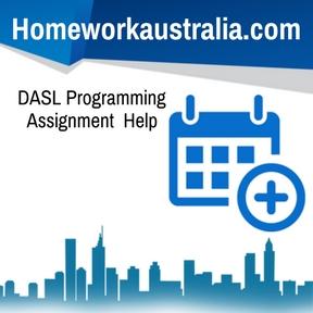 DASL Programming Assignment Help