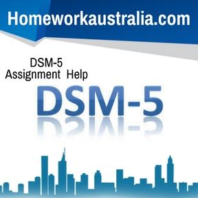 DSM-5 Assignment Help