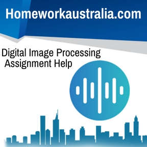 Digital Image Processing Assignment Help