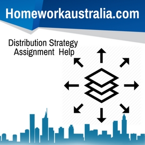 Distribution Strategy Assignment Help