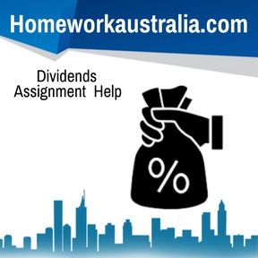 Dividends Assignment Help