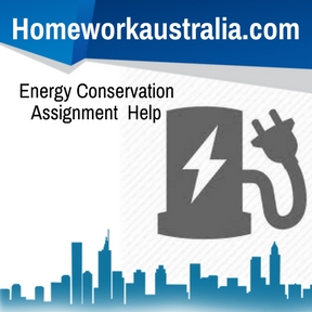 Energy Conservation Assignment Help