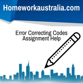 Error Correcting Codes Assignment Help