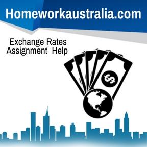 Exchange Rates Assignment Help