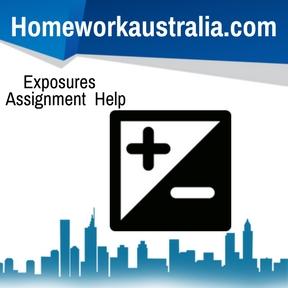 Exposures Assignment Help