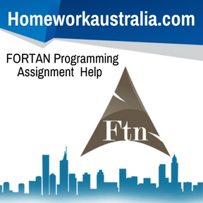 FORTAN Programming Assignment Help