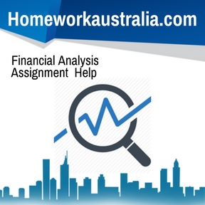 Financial Analysis Assignment Help