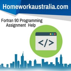 Fortran 90 Programming Assignment Help
