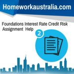 Foundations Interest Rate Credit Risk