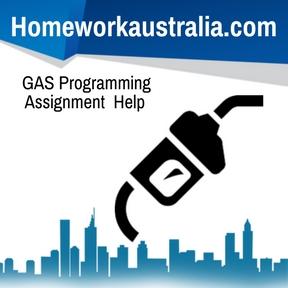 GAS Programming Assignment Help