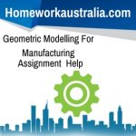 Geometric Modelling For Manufacturing