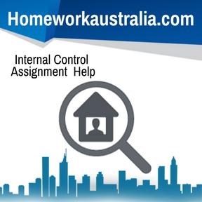 Internal Control Assignment Help
