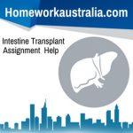 Intestine Transplant