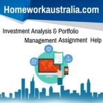 Investment Analysis & Portfolio Management
