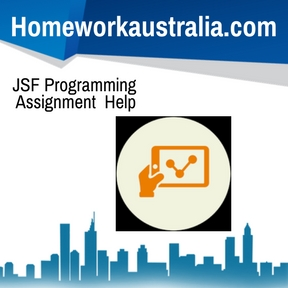 JSF Programming Assignment Help