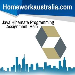 Java Hibernate Programming Assignment Help