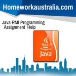 Java RMI Programming