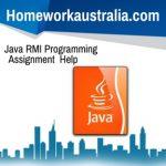 Java RMI Programming