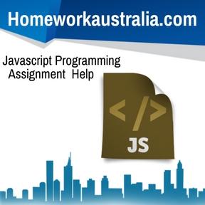 Javascript Programming Assignment Help