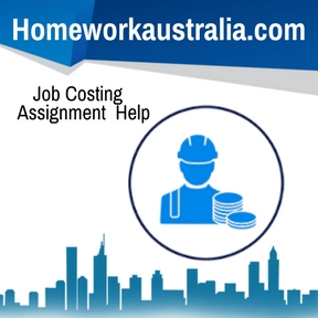 Job Costing Assignment Help