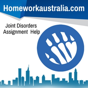 Joint Disorders Assignment Help